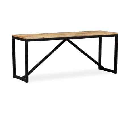 vidaXL Suoliukas, tvirta mango mediena, 110x35x45cm[11/14]