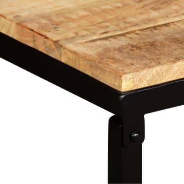 vidaXL Suoliukas, tvirta mango mediena, 110x35x45cm[5/14]