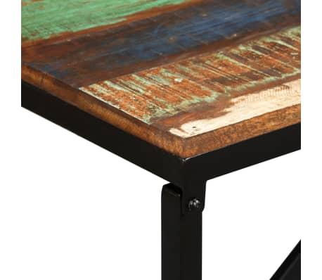 vidaXL Suoliukas, masyvi perdirbta mediena, 160x35x45cm[5/13]