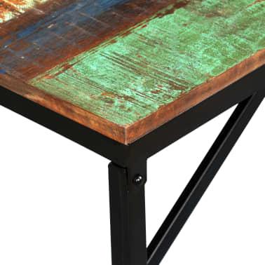 vidaXL Suoliukas, masyvi perdirbta mediena, 160x35x45cm[4/13]