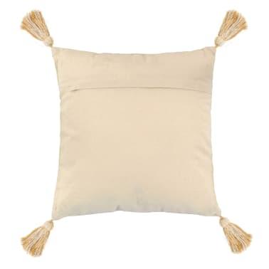vidaXL 2 poduszki, 45x45 cm, styl boho, żółte[3/4]