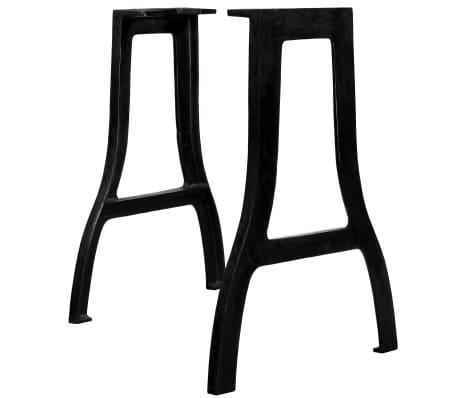 vidaXL 2x Furniture Legs Cast Iron Feet Accessories Multi Shapes Multi Models