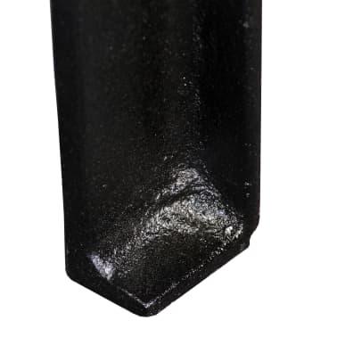 vidaXL Pied de table basse 2 pcs Cadre en A Fonte[9/10]