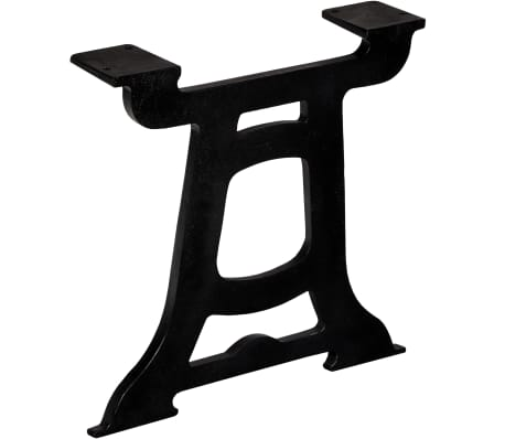 vidaXL Noge za klubsko mizico 2 kosa Y oblike lito železo[3/10]