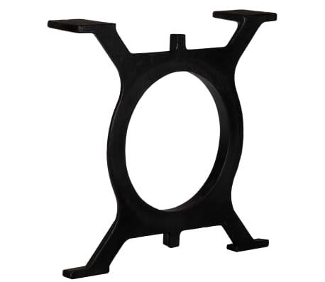 vidaXL Noge za klubsko mizico 2 kosa O oblike lito železo[3/10]