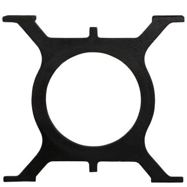 vidaXL Noge za klubsko mizico 2 kosa O oblike lito železo[5/10]