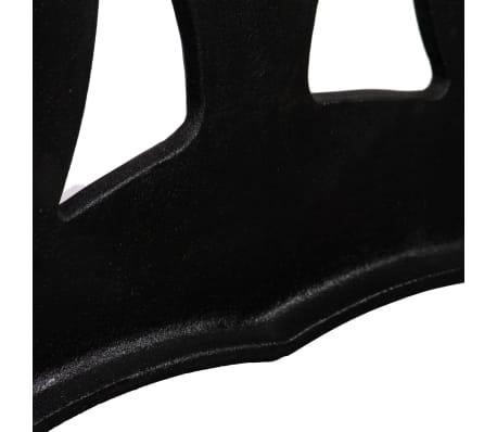 vidaXL Noge za klubsko mizico 2 kosa X oblike lito železo[7/11]