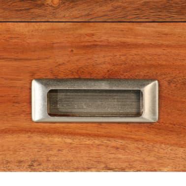 vidaXL Tv-meubel 140 cm massief acaciahout met sheesham afwerking[6/14]