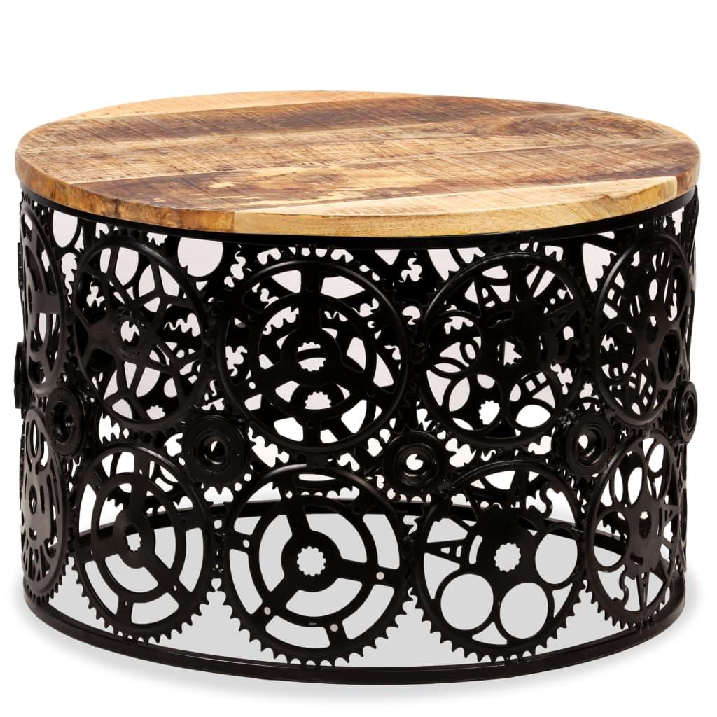 vidaXL Konferenční stolek z masivního mangovníkového dřeva 60 x 40 cm