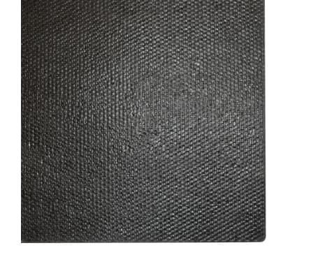vidaXL Deurmat 17 mm 80x100 cm kokosvezel zwart[5/5]