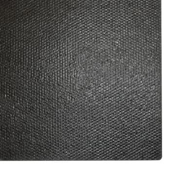 vidaXL Wycieraczka z włókna kokosowego, 17 mm, 80x100 cm, czarna[5/5]