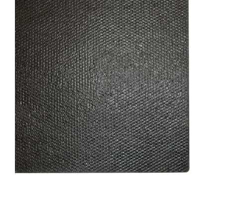 vidaXL Wycieraczka z włókna kokosowego, 17 mm, 190x200 cm, czarna[5/5]