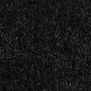 vidaXL Predpražnik iz kokosovih vlaken 17 mm 190x200 cm črn[3/5]