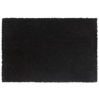 vidaXL Deurmatten 24 mm 50x80 cm kokosvezel zwart 2 st[4/5]