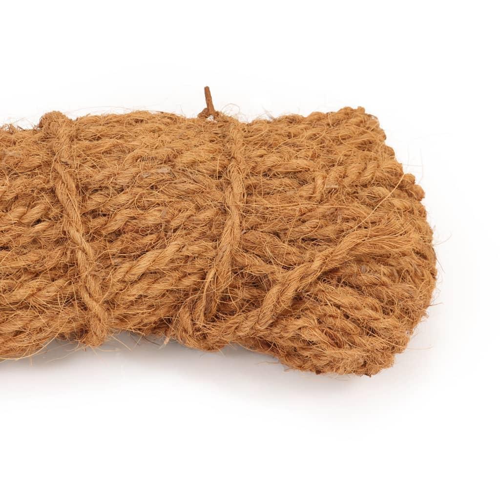 vidaXL Touw 8-10 mm 100 m kokosvezel