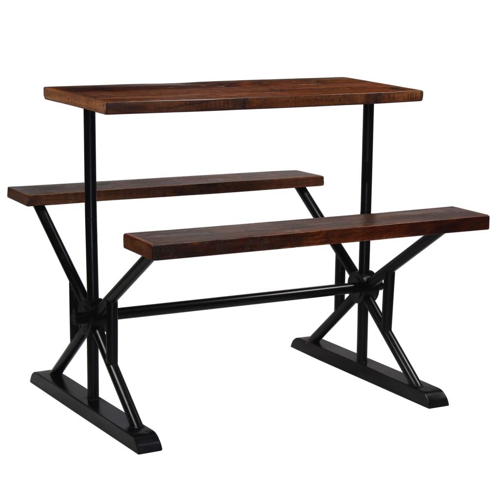 Details about solid acacia wood bar table benches kitchen furniture bar garden chair desk