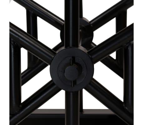 vidaXL Barska miza s klopmi iz trdnega predelanega lesa 120x50x107 cm[7/13]