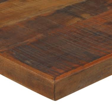 vidaXL Barový stůl masivní recyklované dřevo 150x70x107 cm tmavě hnědý[4/12]
