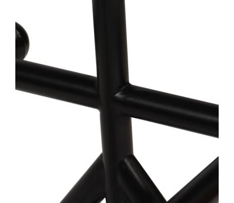 vidaXL Table de bar Bois massif de récupération Marron 180x70x107 cm[6/12]