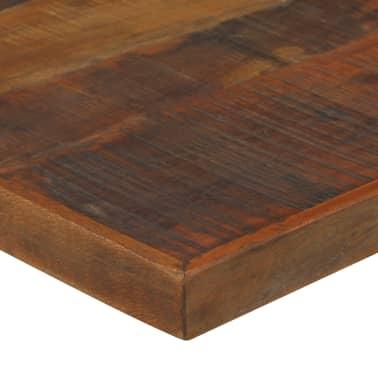 vidaXL Table de bar Bois massif de récupération Marron 180x70x107 cm[4/12]