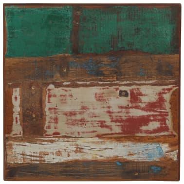 vidaXL Baro stalas, perdirbta mediena, įvairių spalvų, 60x60x107cm[3/12]