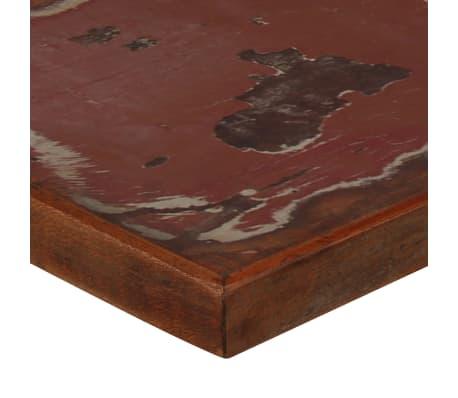 vidaXL Table de bar Bois massif recyclé Multicolore 120 x 60 x 107 cm[4/13]