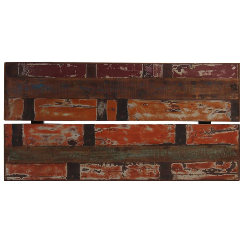 Bartafel 150x70x107 cm massief gerecycled hout meerkleurig