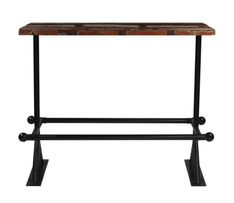 vidaXL Barový stůl masivní recyklované dřevo 180x70x107 cm vícebarevné [2/12]