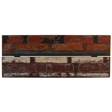 vidaXL Barový stůl masivní recyklované dřevo 180x70x107 cm vícebarevné [3/12]
