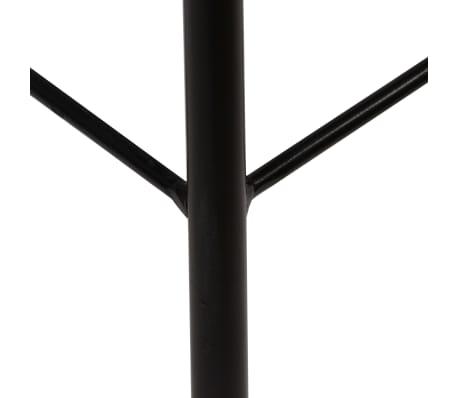vidaXL Chaise de bar 2 pcs Bois massif de récupération Marron foncé[8/14]