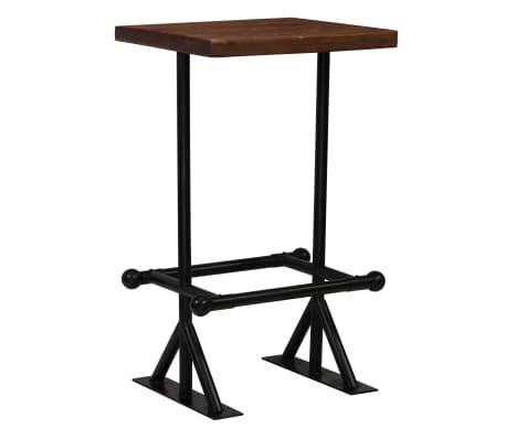 vidaXL Barska garnitura 3-delna iz trdnega predelanega lesa[2/21]