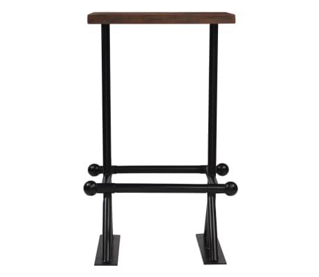 vidaXL Barska garnitura 3-delna iz trdnega predelanega lesa[3/21]