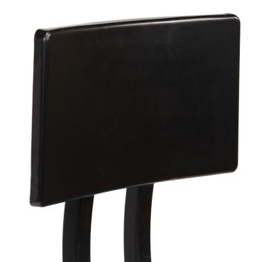 vidaXL Barska garnitura 3-delna iz trdnega predelanega lesa[14/21]