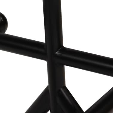 vidaXL Barska garnitura 3-delna iz trdnega predelanega lesa[6/21]