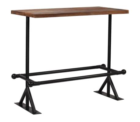 vidaXL Barska garnitura 5-delna iz trdnega predelanega lesa[2/21]
