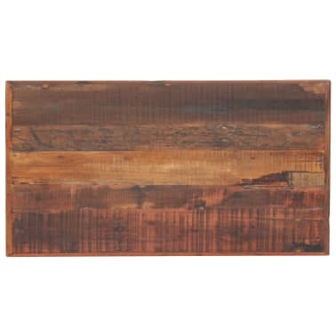 vidaXL Barska garnitura 5-delna iz trdnega predelanega lesa[5/21]