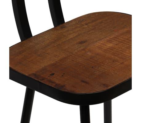 vidaXL Baro baldų komplektas, 7d., masyvi perdirbta mediena[12/21]