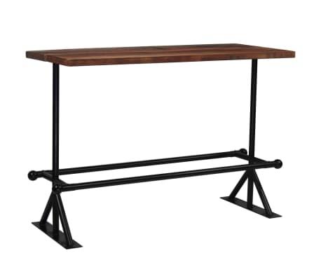 vidaXL Baro baldų komplektas, 7d., masyvi perdirbta mediena[17/21]