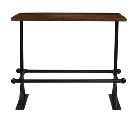vidaXL Baro baldų komplektas, 7d., masyvi perdirbta mediena[3/21]