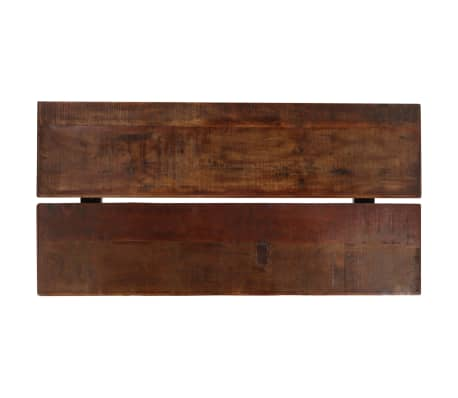 vidaXL Barska garnitura 7-delna iz trdnega predelanega lesa[5/21]