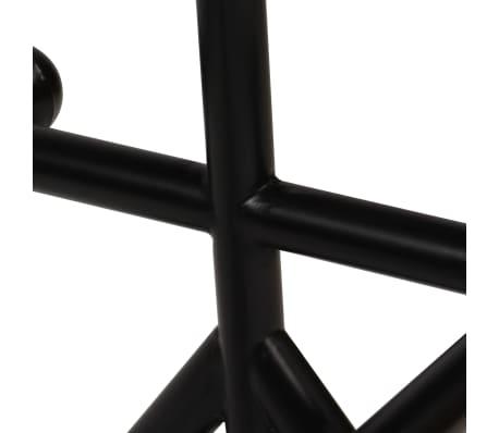 vidaXL Barska garnitura 7-delna iz trdnega predelanega lesa[6/21]