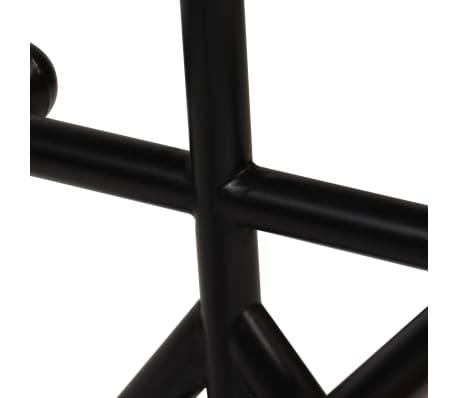 vidaXL Barska garnitura 9-delna iz trdnega predelanega lesa[6/21]