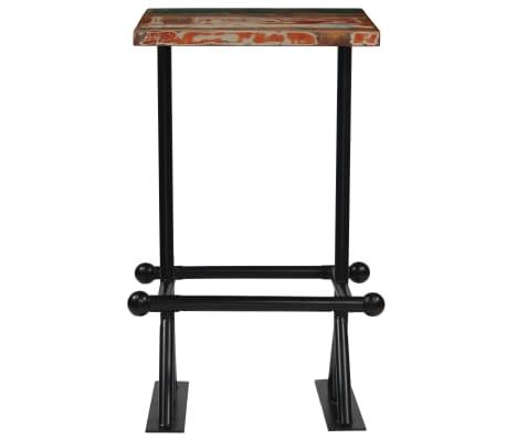 vidaXL Barska garnitura 3-delna iz trdnega predelanega lesa večbarvna[3/22]