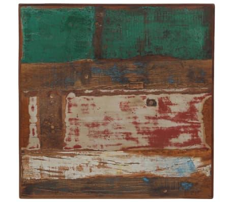 vidaXL Barska garnitura 3-delna iz trdnega predelanega lesa večbarvna[5/22]