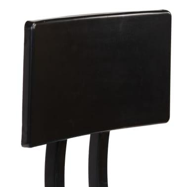 vidaXL Barska garnitura 3-delna iz trdnega predelanega lesa večbarvna[14/22]
