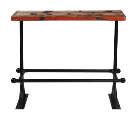 vidaXL Baro baldų komplektas, 5d., perdirbta mediena, įvairiaspalvis[3/21]