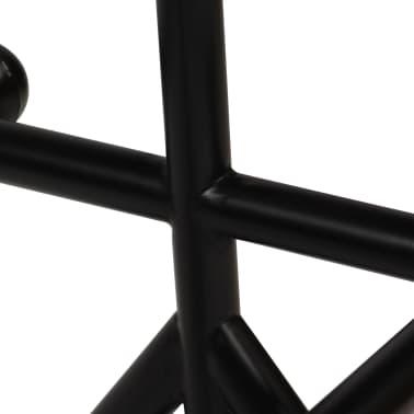 vidaXL Baro baldų komplektas, 5d., perdirbta mediena, įvairiaspalvis[6/21]