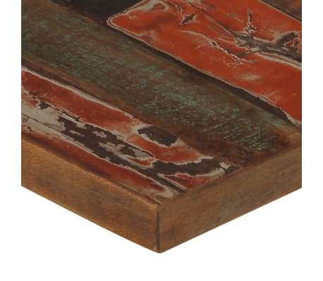 vidaXL Barska garnitura 7-delna iz trdnega predelanega lesa večbarvna[5/21]