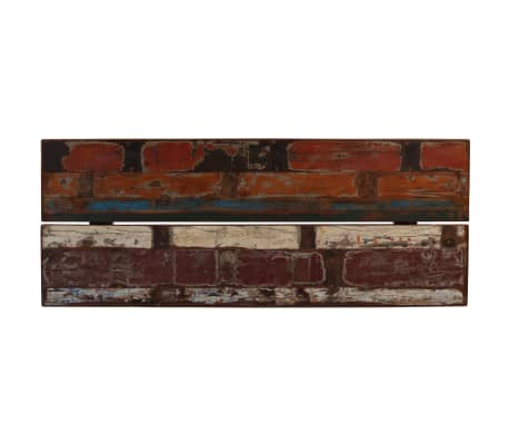 vidaXL Baro baldų komplektas, 9d., perdirbta mediena, įvairių spalvų[4/21]