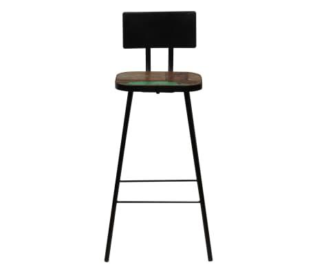 vidaXL Baro baldų komplektas, 9d., perdirbta mediena, įvairių spalvų[9/21]